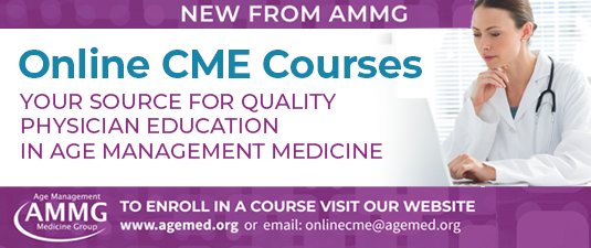 AMMG 25th Clinical Applications for Age Management Medicine