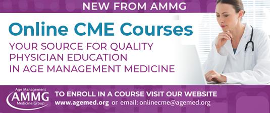 AMMG CME Online Age Management Medicine Courses