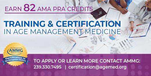 certification in age management medicine