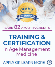 AMMG Certification in Age Management Medicine
