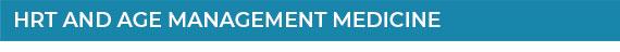 BHRT & Age Management Medicine
