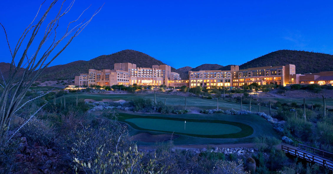 Age Management Medicine Group AMMG Conference November 2018 Tucson Arizona JW Marriott Starr Hotel at Night