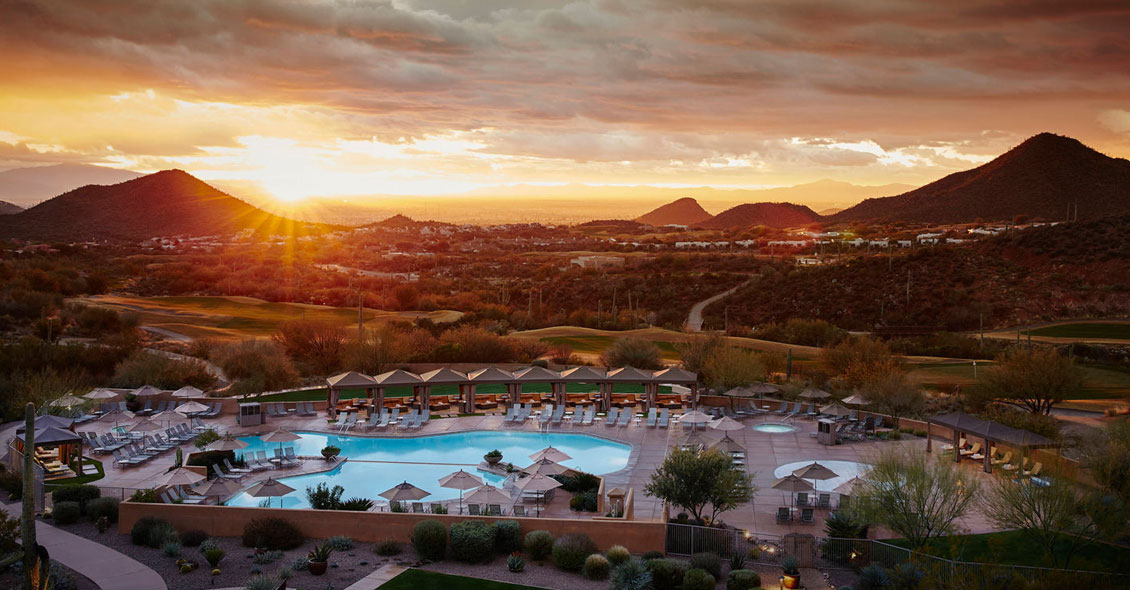 Age Management Medicine Group AMMG Conference November 2018 Tucson Arizona JW Marriott Starr Hotel Sunset Over Mountains